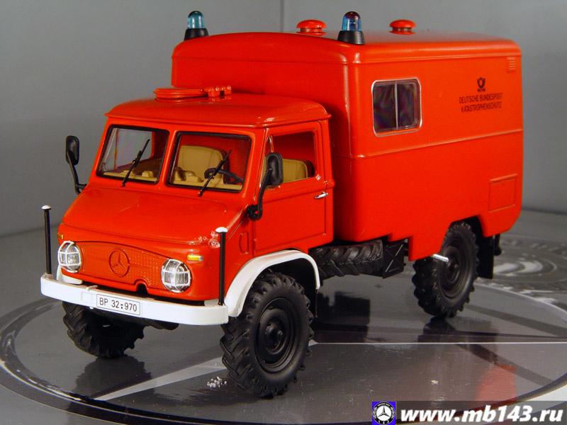 Mercedes-Benz Unimog 404S, 1971 - mb143.ru